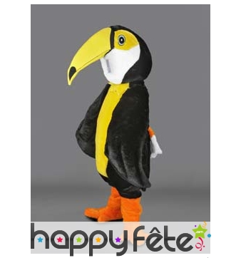Mascotte oiseau toucan