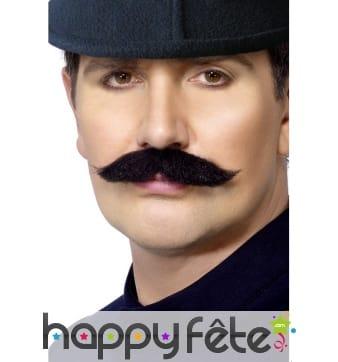Moustache policier