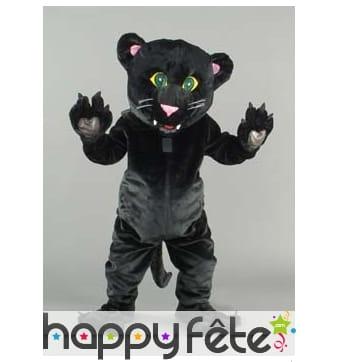 Mascotte panthere noire