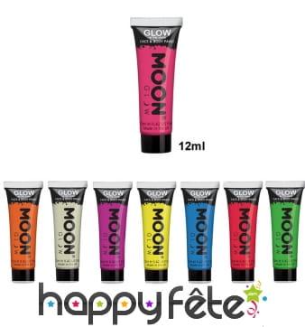 Maquillage phosphorescent pour visage et corps