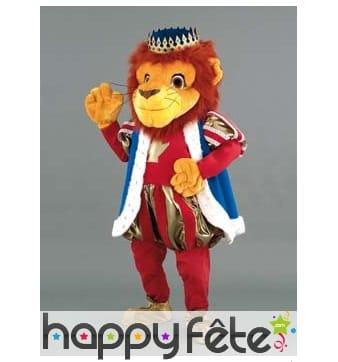 Mascotte roi lion