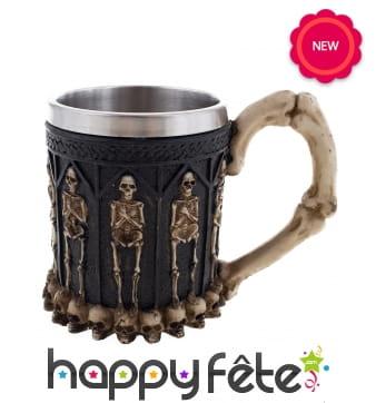 Mug squelette de Viking