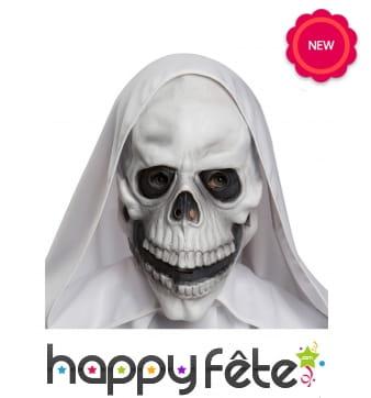 Masque squelette en latex pour adulte