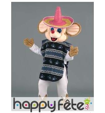 Mascotte souris mexicaine
