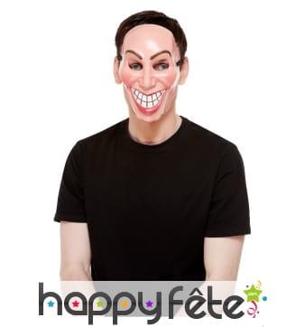 Masque sourire visieux pour homme