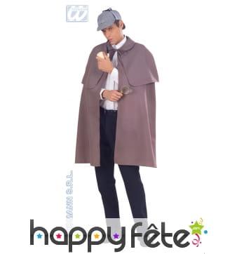 Manteau tissu détective