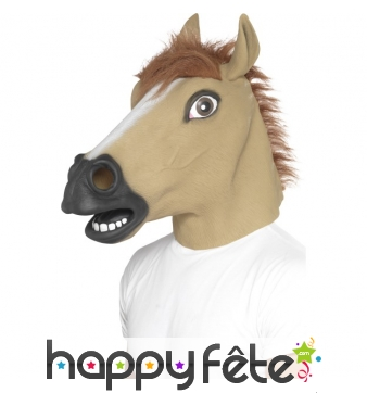 Masque tête de cheval intégrale