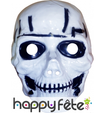 Masque tete de mort pour enfant