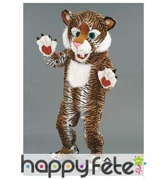 Mascotte tigre jungle