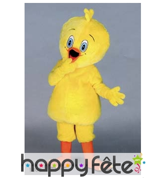 Mascotte titi jaune