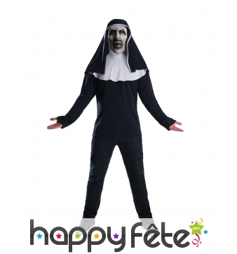 Masque The nun avec t-shirt pour adulte