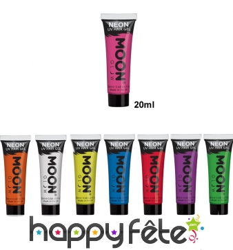Maquillage UV intense en gel pour cheveux, 20ml