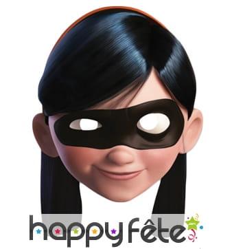 Masque Violette en carton, Les Indestructibles