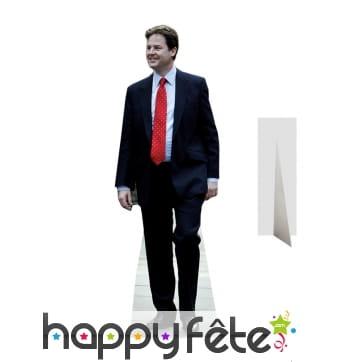 Nick Clegg taille réelle en carton plat