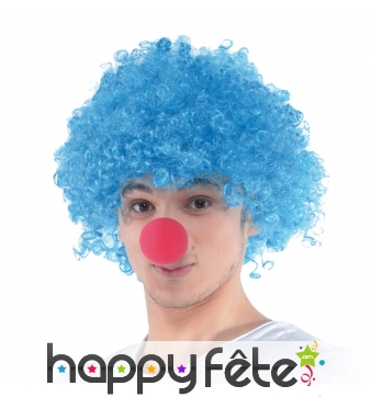 Nez de clown rouge en mousse