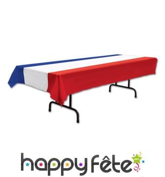 Nappe drapeau français de 3 X 1,4m