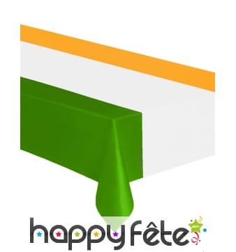 Nappe drapeau Irlandais de 137 x 274cm