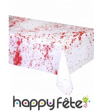 Nappe tâchée de sang 198 x 150 cm
