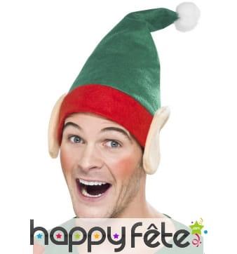 Oreille d'elfe avec bonnet
