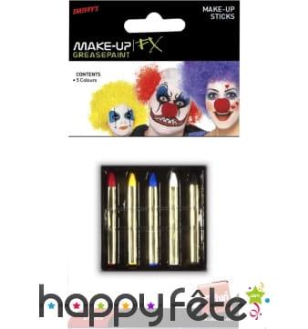 Pochette 5 crayons maquillage