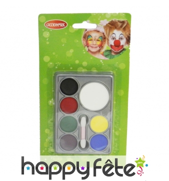 Palette 7 couleurs de maquillage
