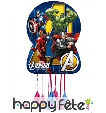 Pinata Avengers assemble à franges