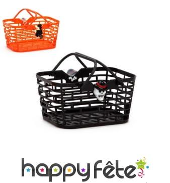 Panier à bonbons noir ou orange pour Halloween