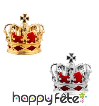 Pince à cheveux en forme de couronne de roi