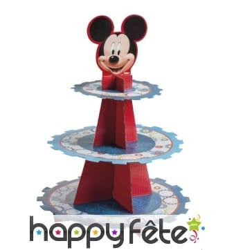 Présentoir à cupcakes Mickey Mouse