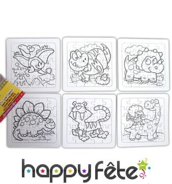 Jeux de kermesse pas cher id al pour la maternelle for Puzzle a colorier