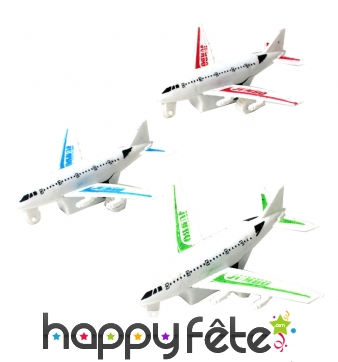 Petit avion de ligne à rétro-friction