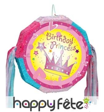Pinata anniversaire de princesse