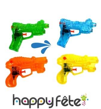 Pistolet à eau double jets coloré