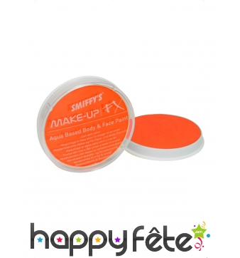 Peinture à l'eau orange