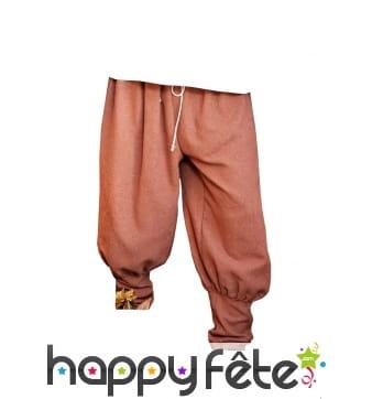 Pantalon authentique medievale