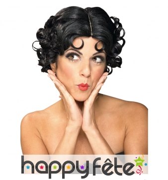 Perruque Betty Boop