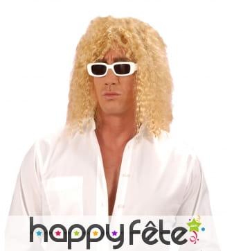 Perruque blonde de Michel Polnareff