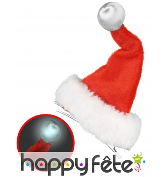 Petit bonnet de Noël lumineux
