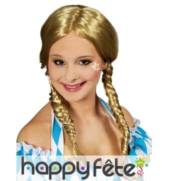 Perruque blonde Oktoberfest