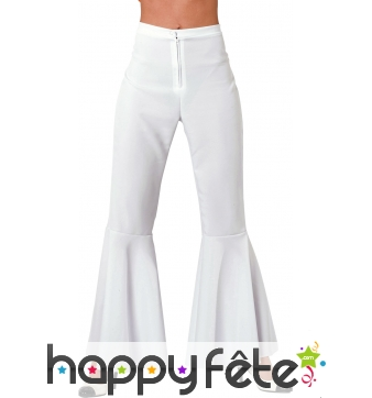 Pantalon blanc patte def