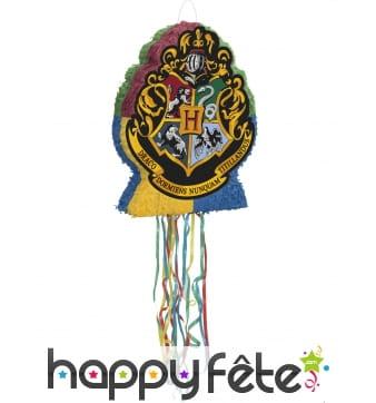 Pinata blason Poudlard Harry Potter de 50 x 43 cm