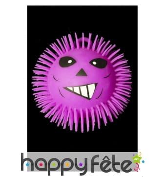 Puffer Ball visage de monstre