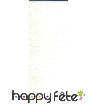 Papier crepon blanc de 50 x 200 cm