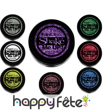 Paillettes cosmétique colorées, 5g