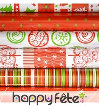 Papier cadeau de Noël fantaisie