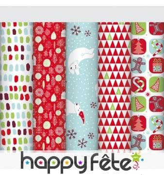 Papier cadeaux de Noël pour enfant