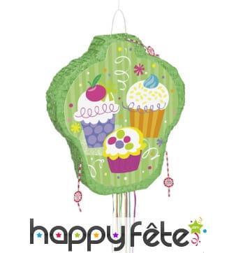 Pinata Cupcakes dessinés