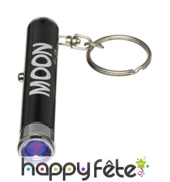 Porte clef lumière noire UV