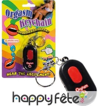 Porte clé original son d'orgasme