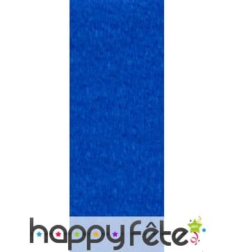 Papier crepon turquoise de 50 x 200 cm